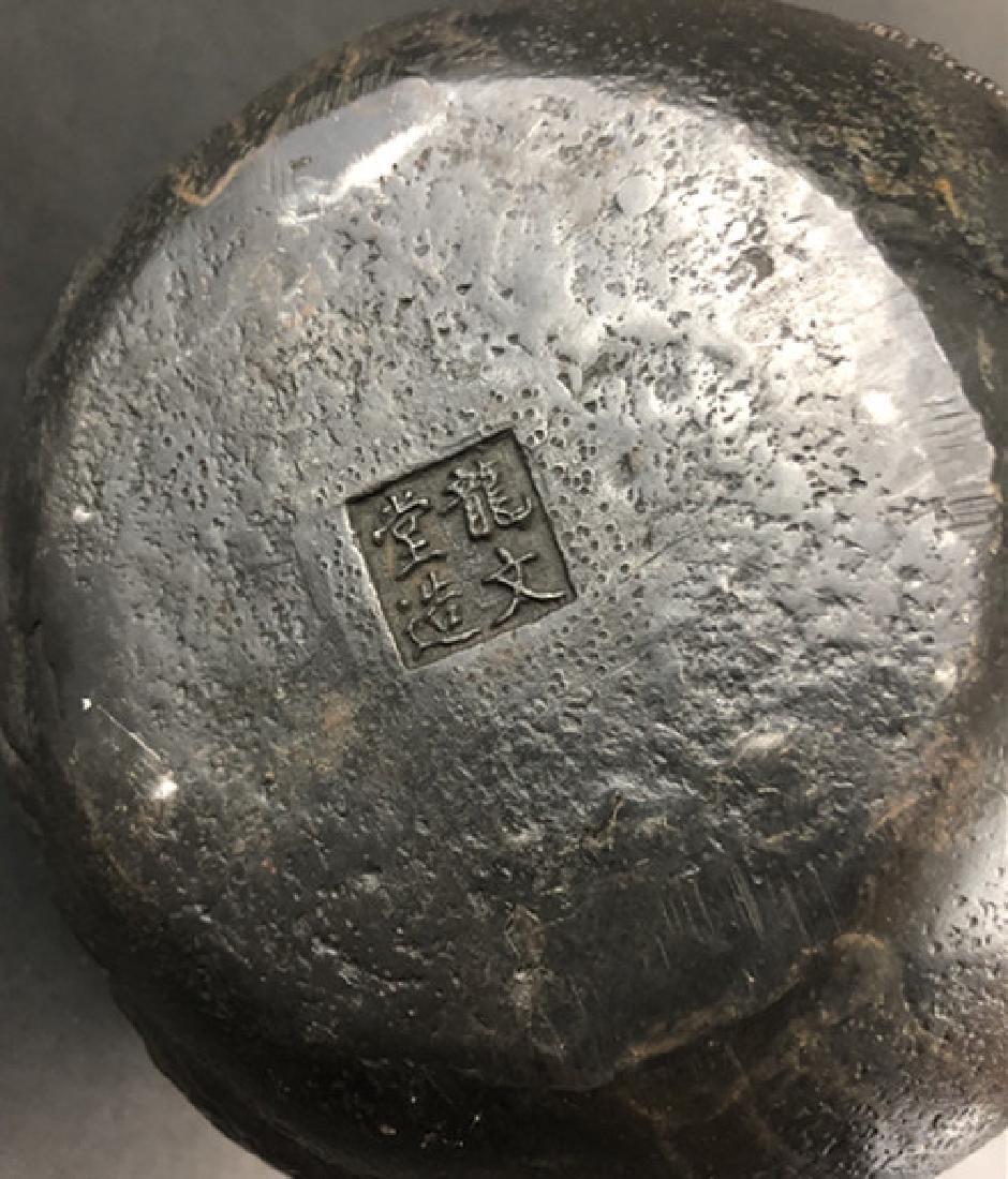 19th century Japanese production iron pot - 8