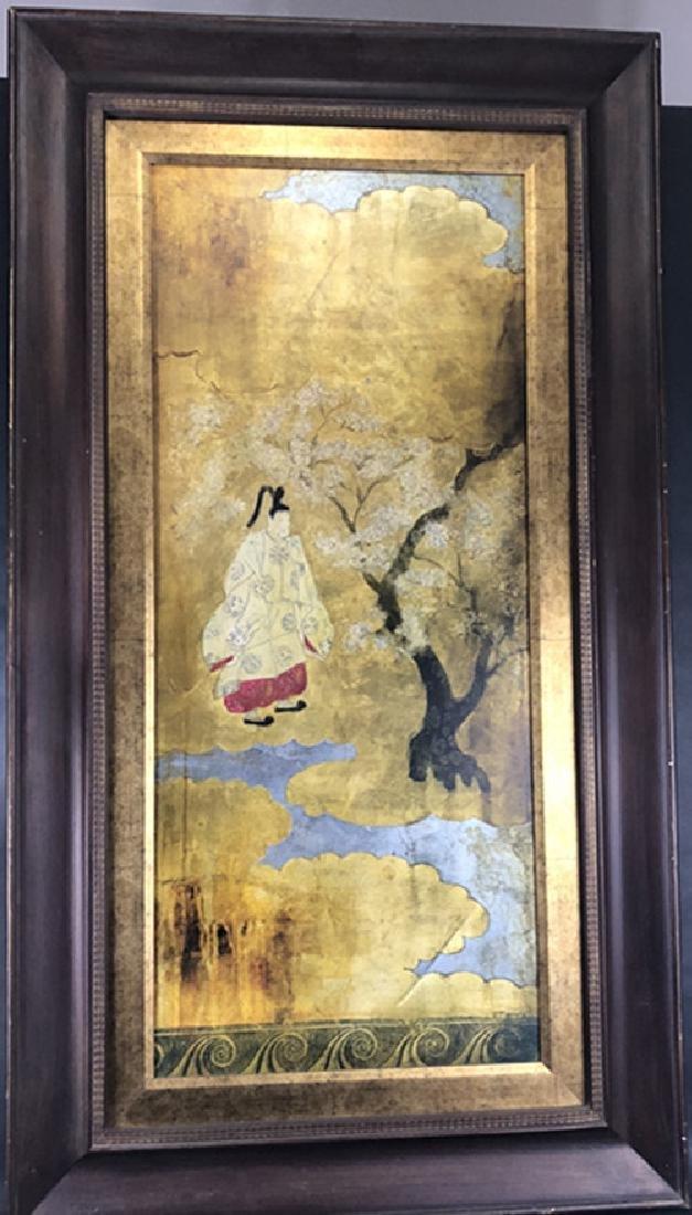 Korean wood painting large pieces