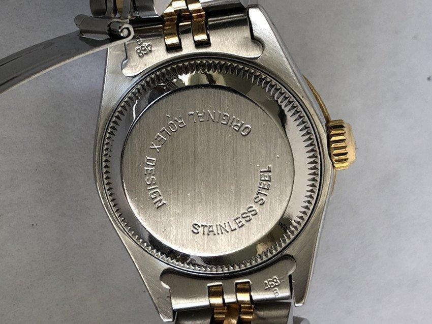 Rolex YG / ss DateJust Diamond Ladies Watch - 7