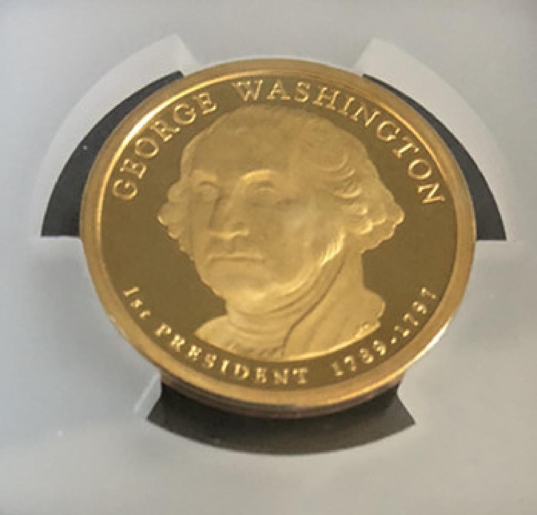 Washington avatar commemorative gold coins - 6