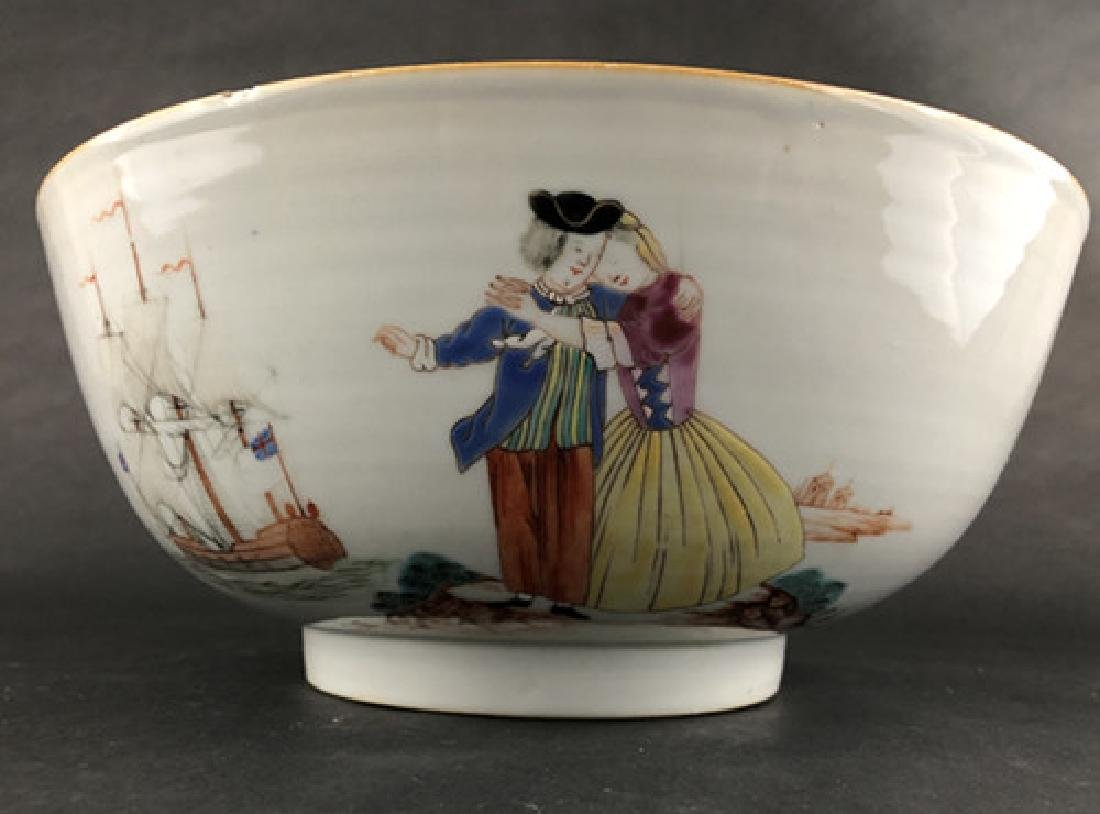 19th century export porcelain bowl