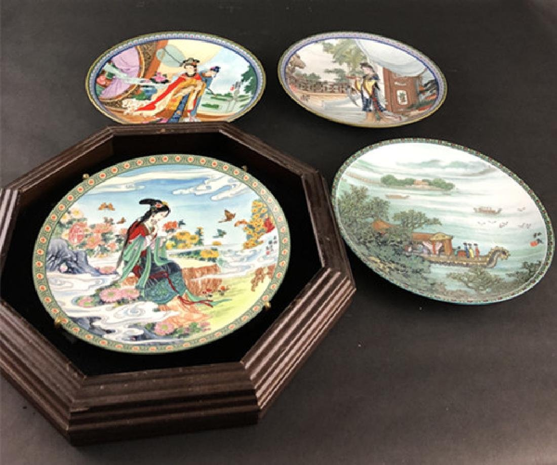 In the 1986s and 1988s Zhao Huimin decals porcelain
