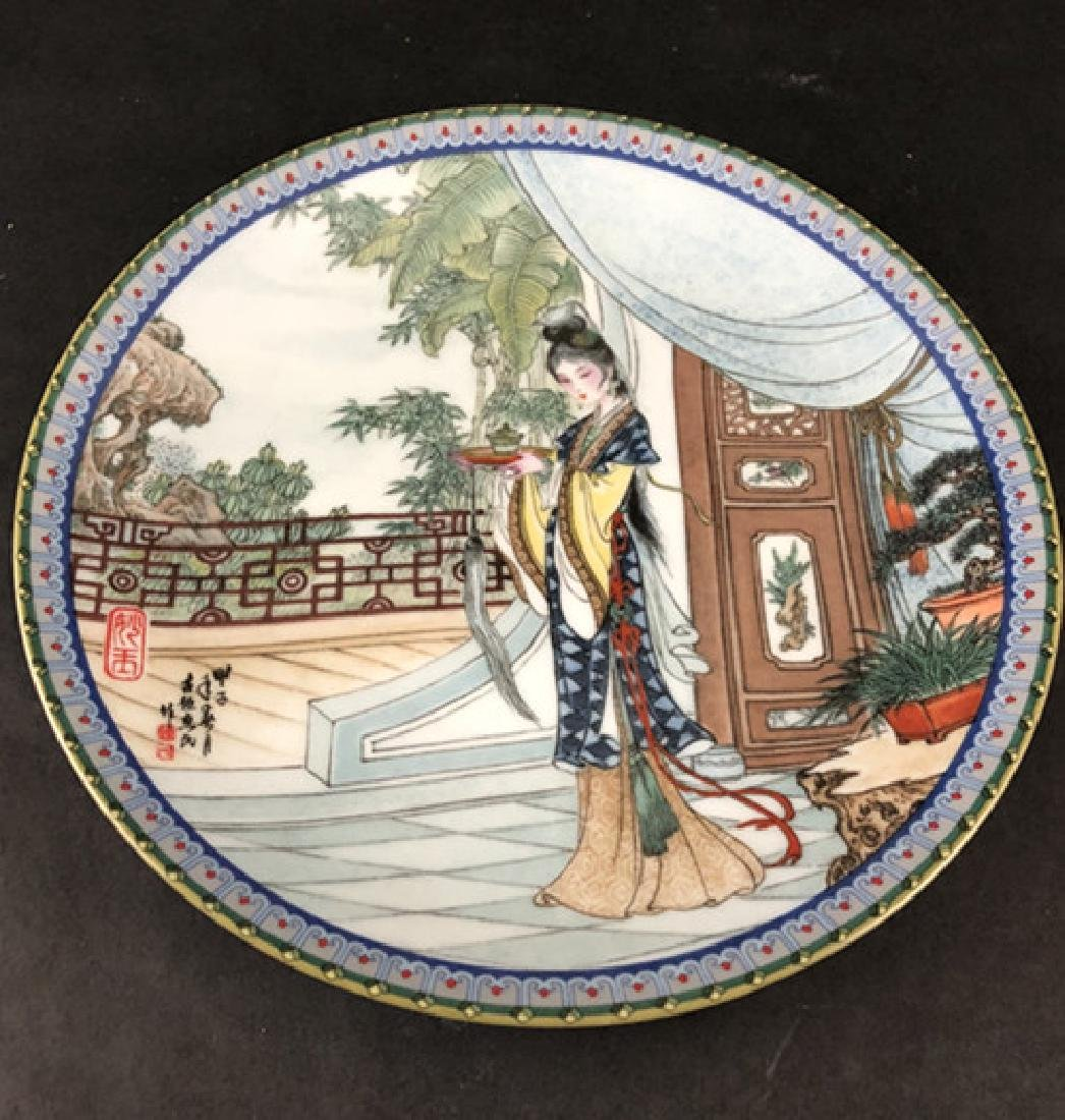 In the 1986s and 1988s Zhao Huimin decals porcelain - 5