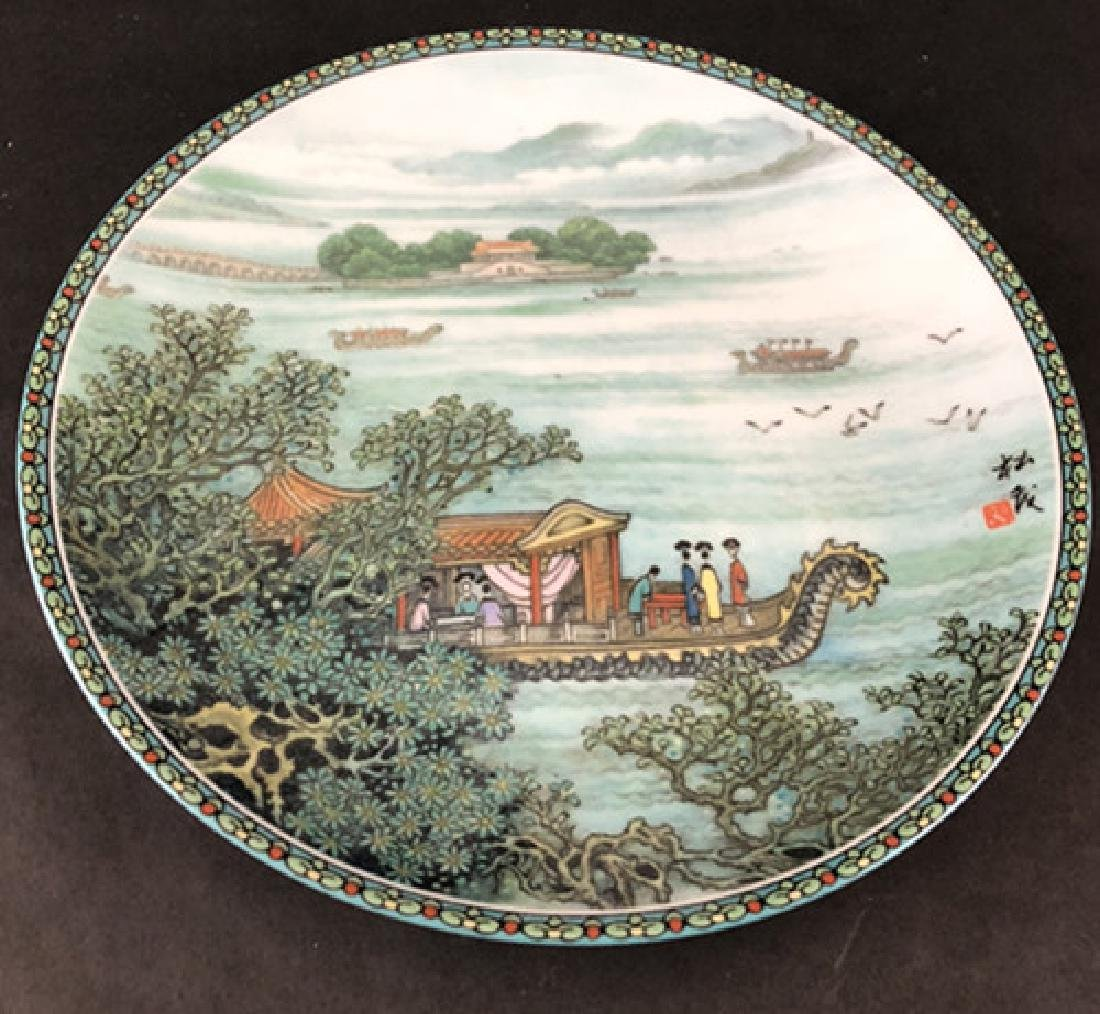 In the 1986s and 1988s Zhao Huimin decals porcelain - 6