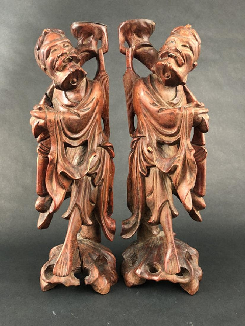 Wo Hop Erxian wood carving