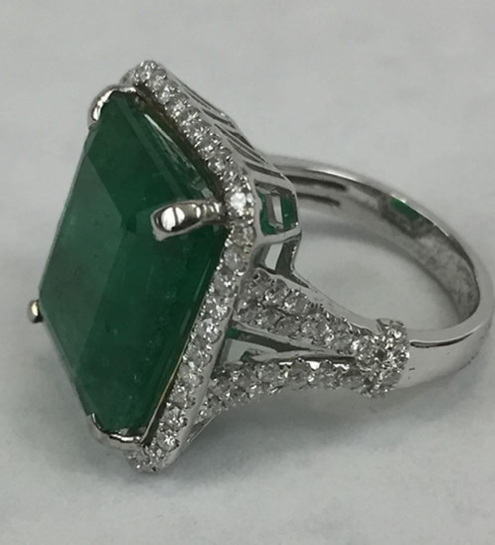 GIA certification, emerald ring