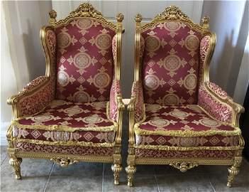 Louis XV Style Gilwood Arm Chair