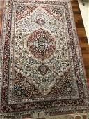 Antique Real Persian Heriz Area Rug 5 x 8
