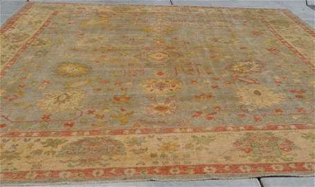 19th Century Fine Antique Oushak Rug, Turkey