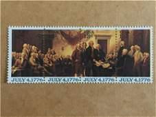 USA 13 Cent Bicentennial Stamps, July 4, 1776