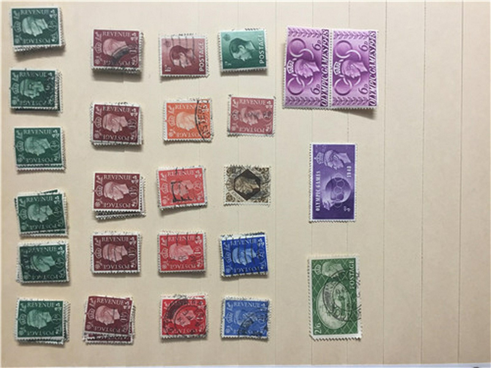 Vintage Great Britain early collection Stamp *33