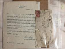 1898 old letters