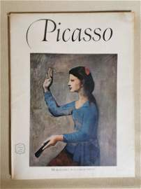 1950 s Picasso AN Abrams ART Book Beautiful full Color