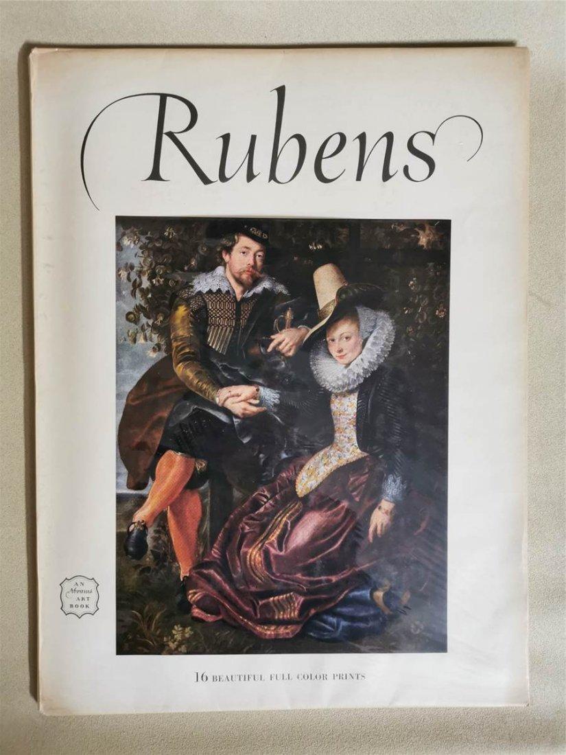 Rubens 16 Beautiful full color paints An abrams ART Boo
