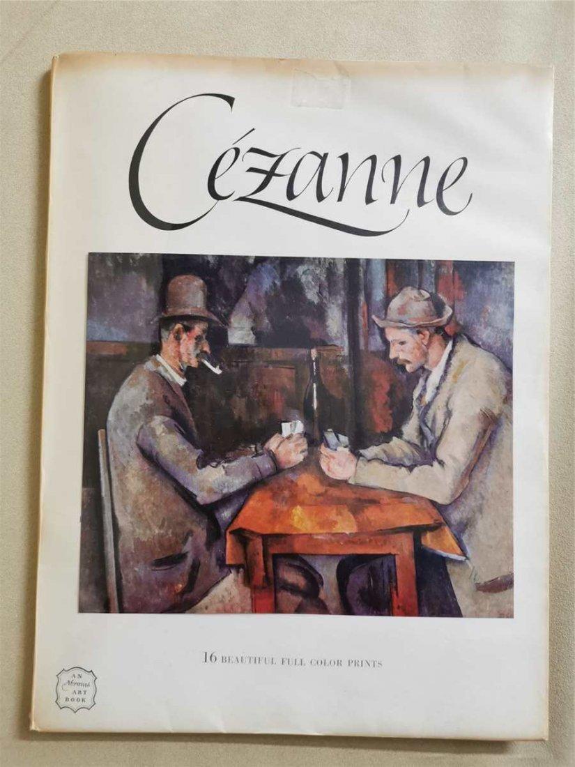 Cezanne 16 Beautiful full color prints An Abrams ART Bo