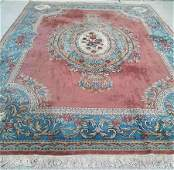 Fine hand-woven  pure wool royal antique Persian rug