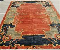 Antiques-Hand-knotted pure wool Persian antique rugs