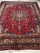 Fine Beautiful hand-knotted 100% wool Persian carpet