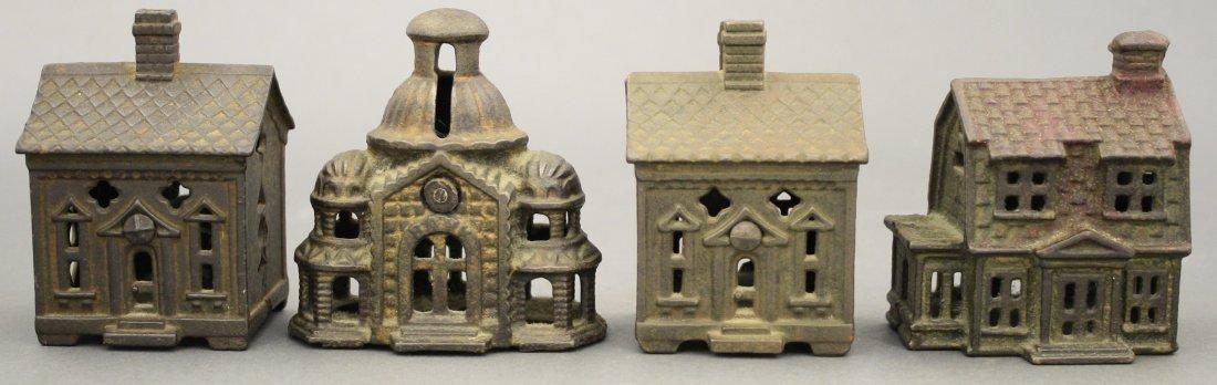 Lot: Four Building Banks