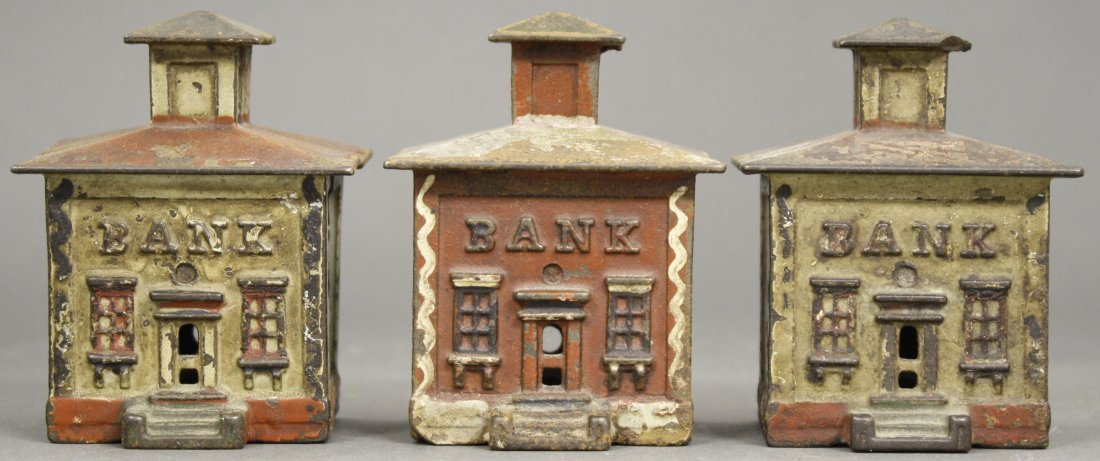 Lot: Three Buildings Banks