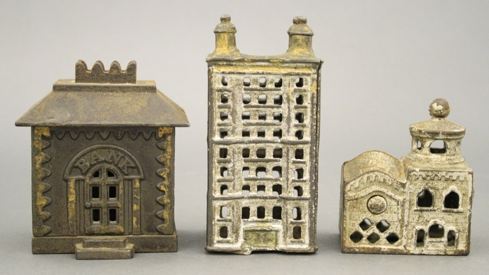Lot: Three Building Banks