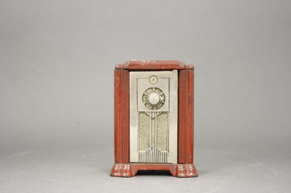 Radio with Combination Door