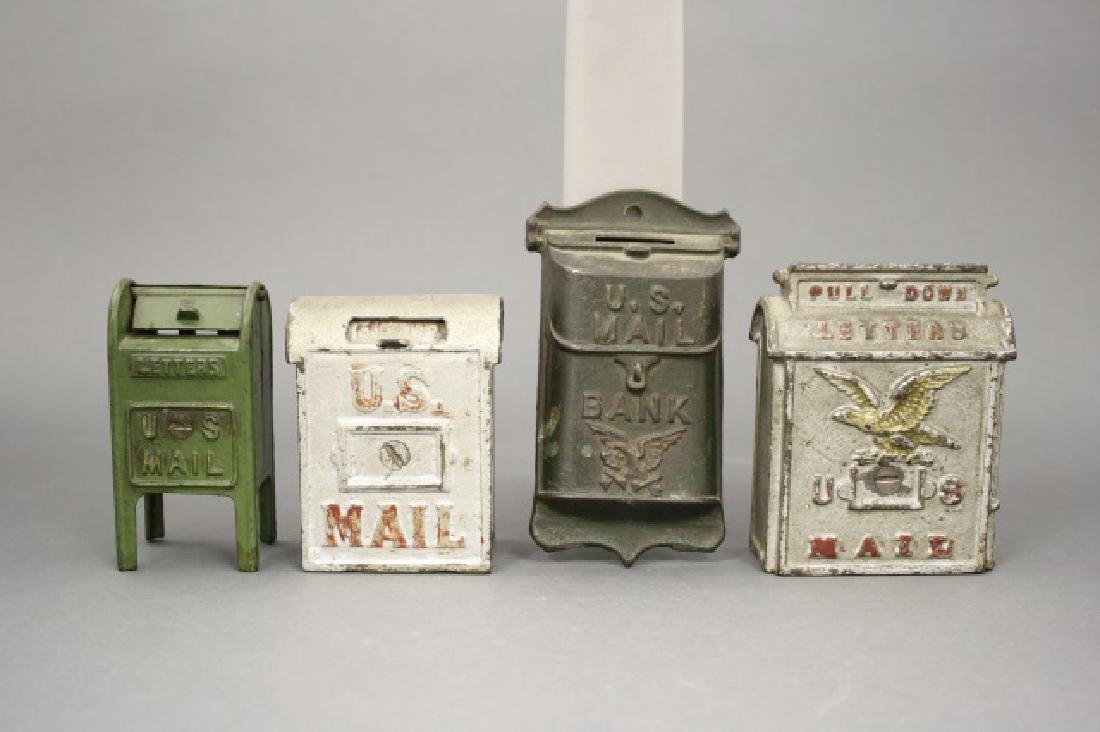 Lot: Four Mailboxes