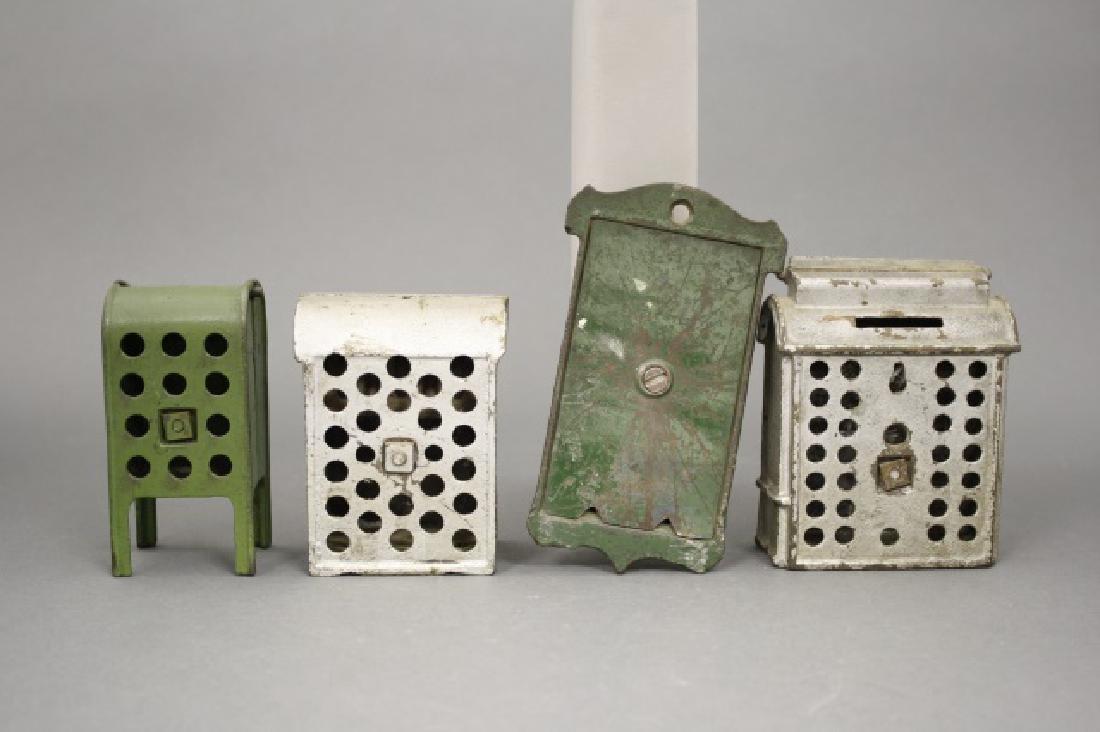 Lot: Four Mailboxes - 2