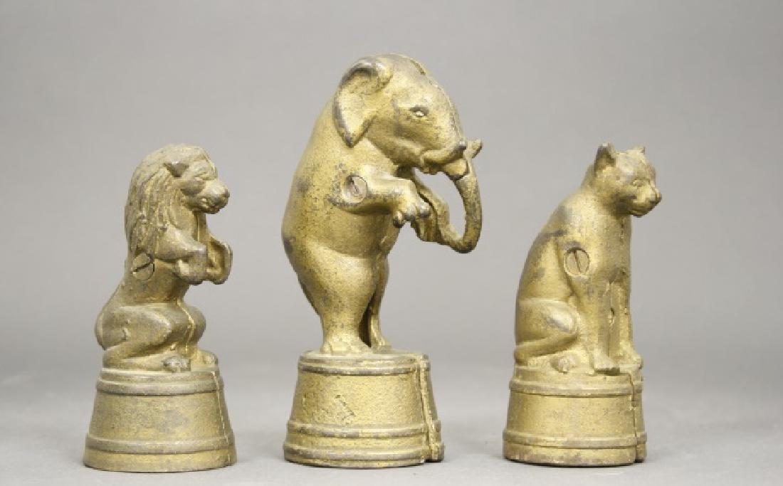 Lot: Three Animals on Tubs - 2