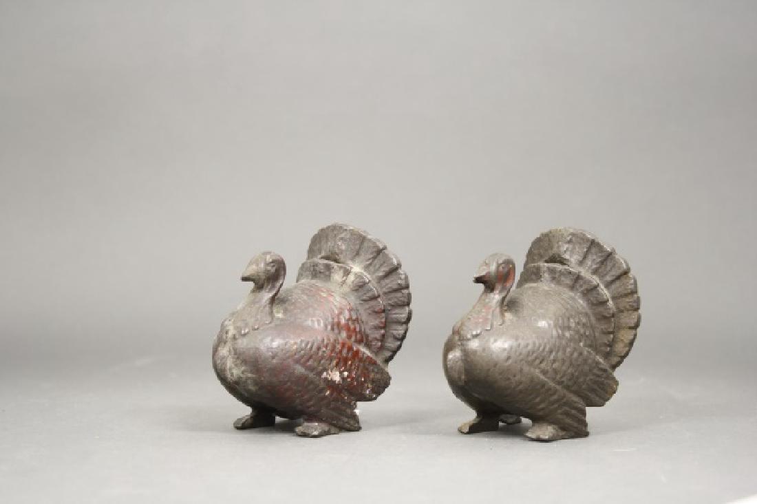 Lot: Two Turkeys
