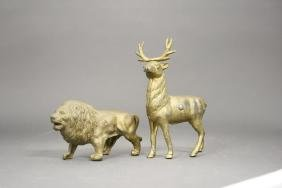 Lot: Two Animals