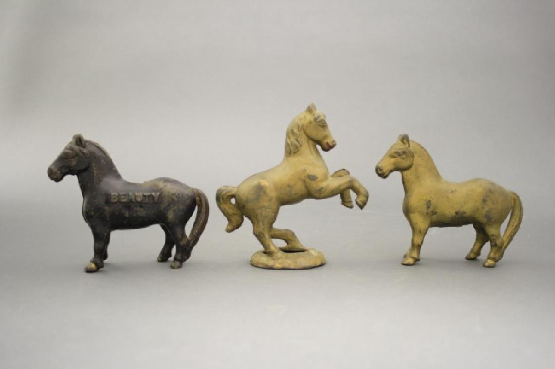 Lot: Three Horses