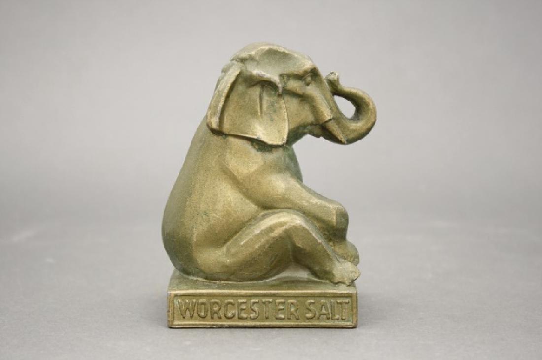 Worcester Salt, Seated Elephant