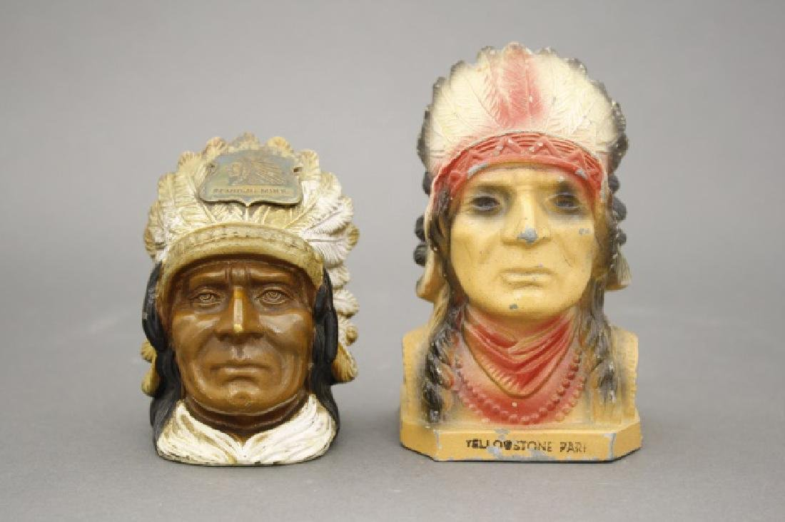 Lot: Two Native Americans