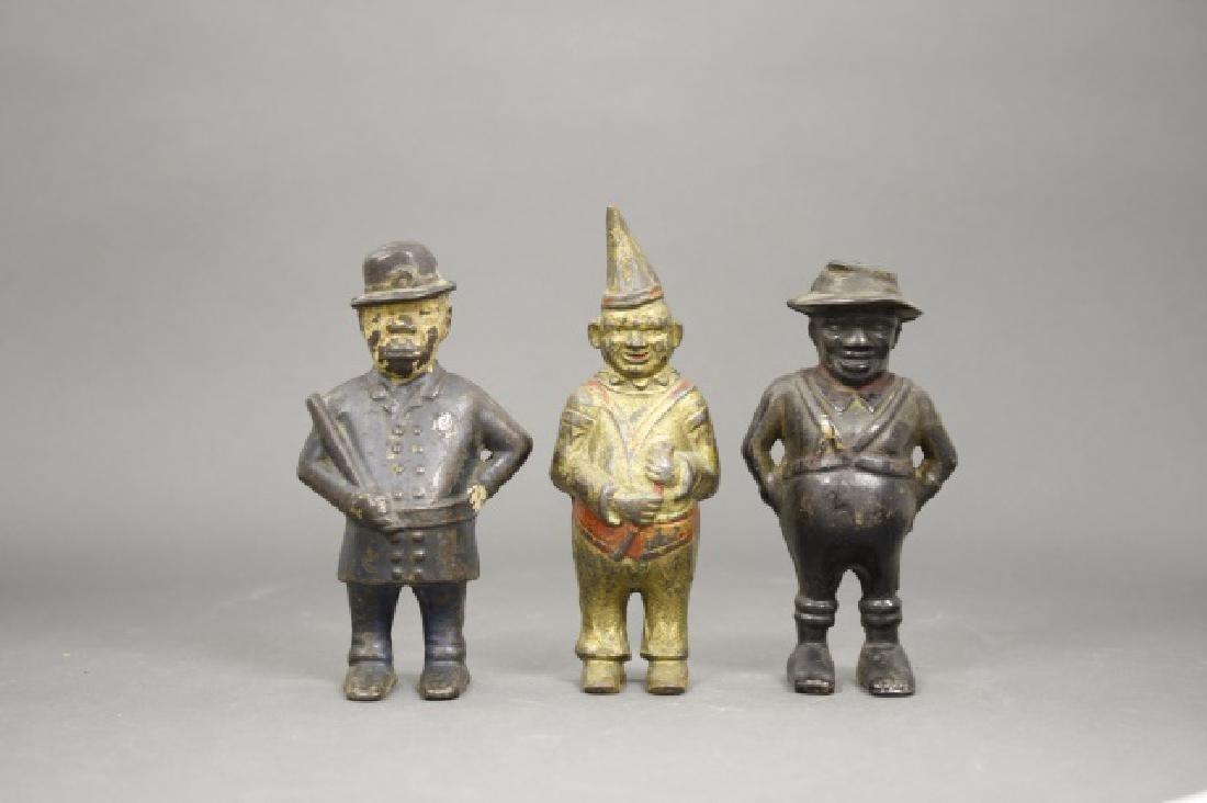 Lot: Three Figural Banks