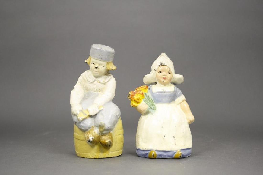 Lot: Dutch Boy and Girl