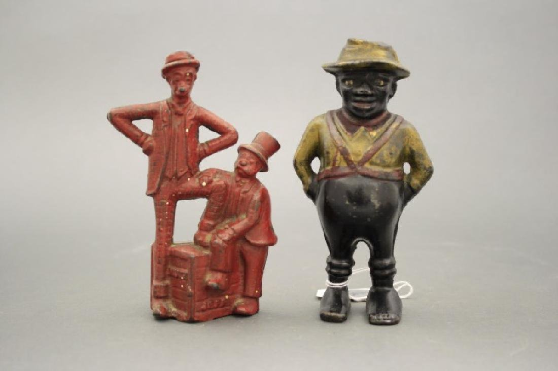 Lot: Two Figural Banks