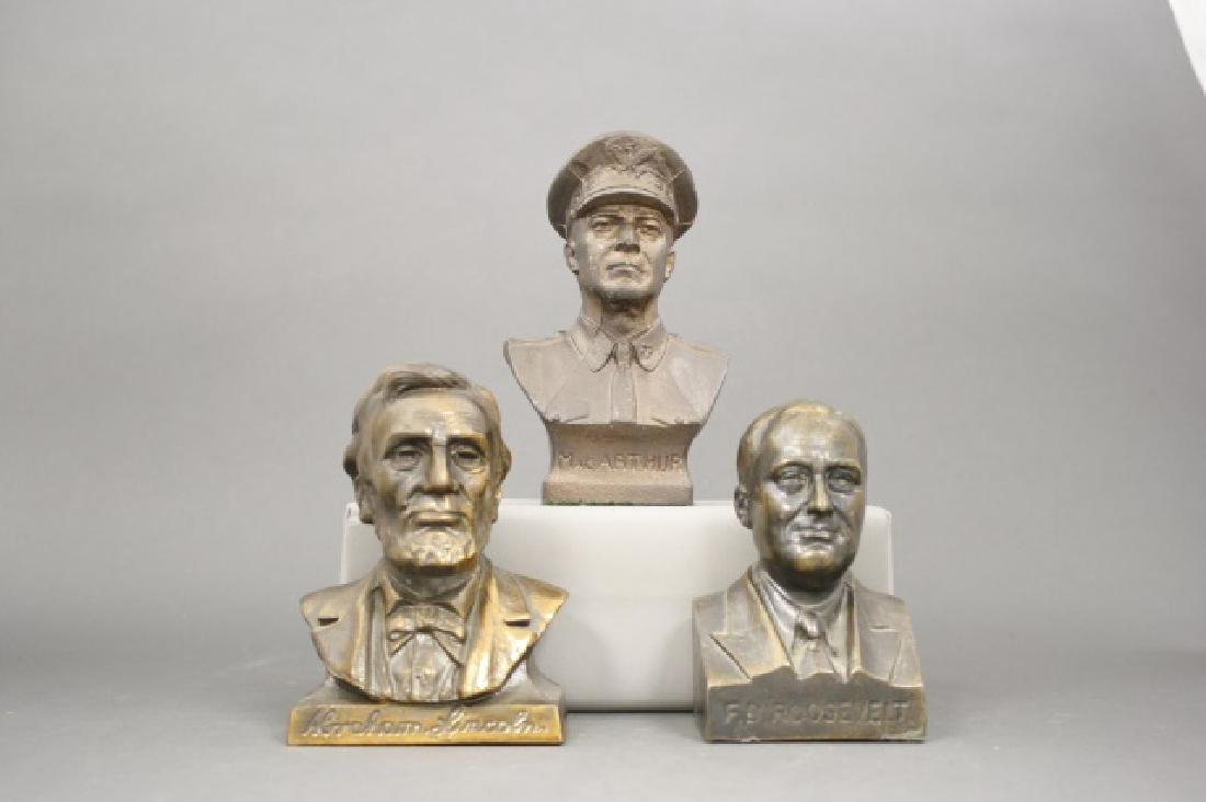 Lot: Three Bust Banks