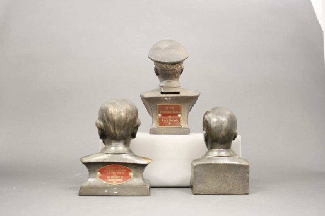 Lot: Three Bust Banks - 2