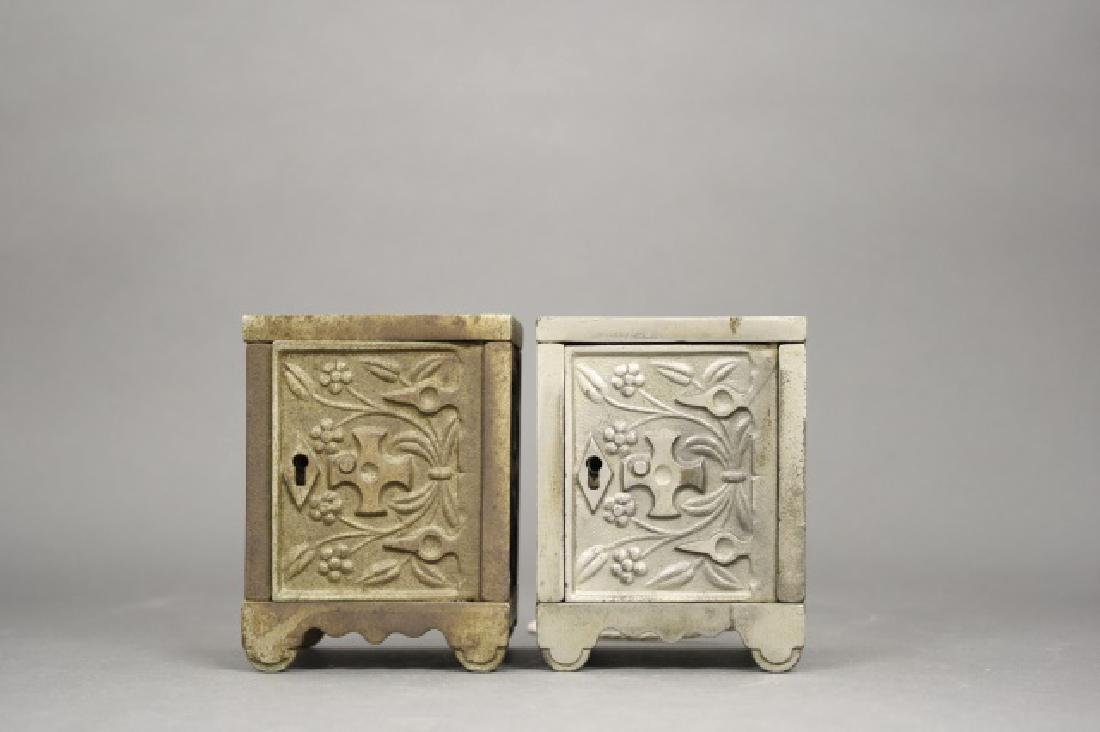 Lot: Two Key Lock Safes