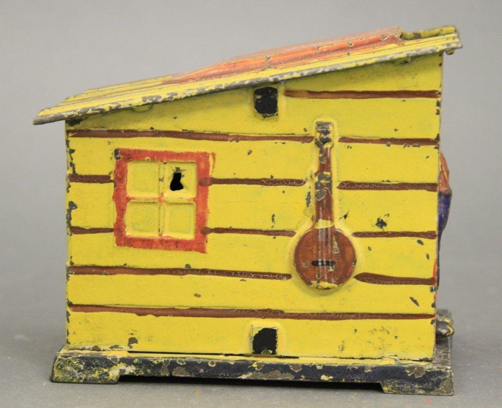Cabin, Yellow Mechanical Bank