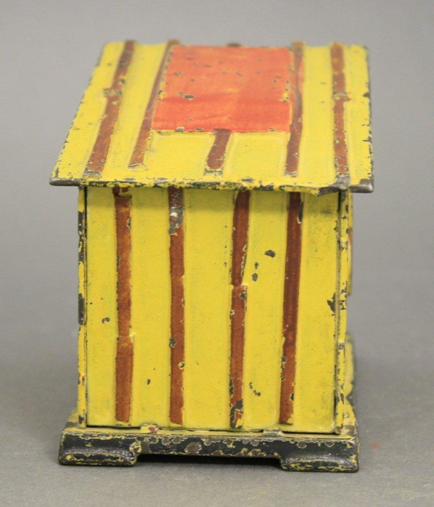 Cabin, Yellow Mechanical Bank - 3
