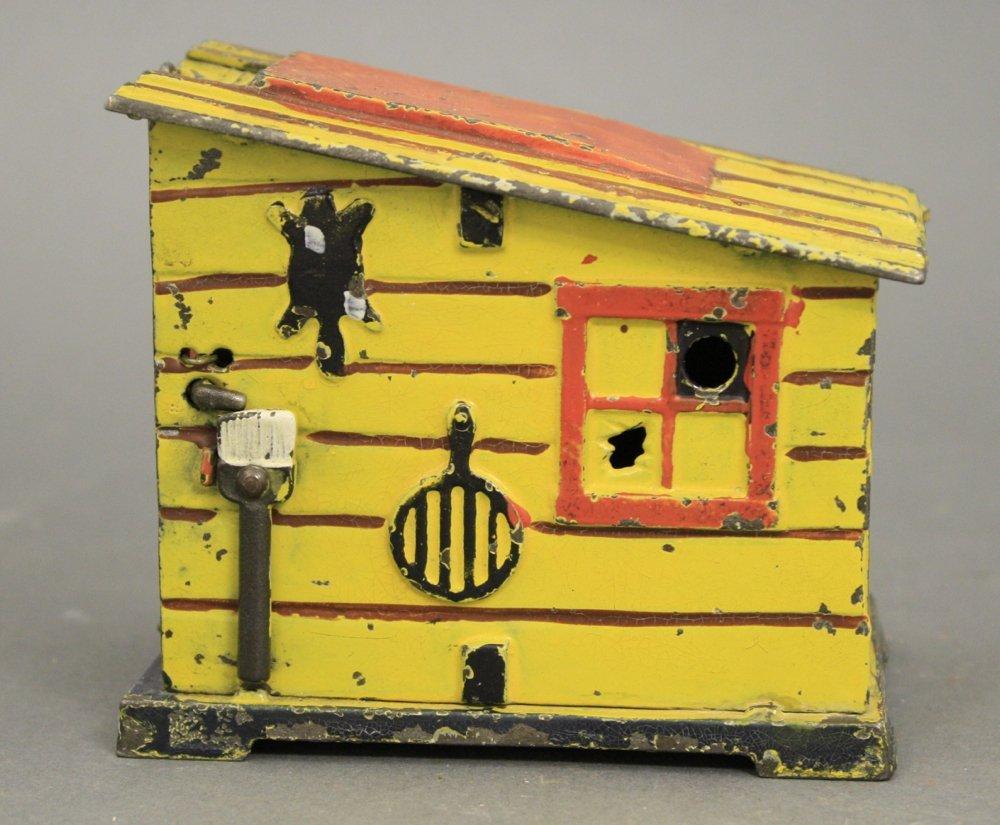 Cabin, Yellow Mechanical Bank - 4