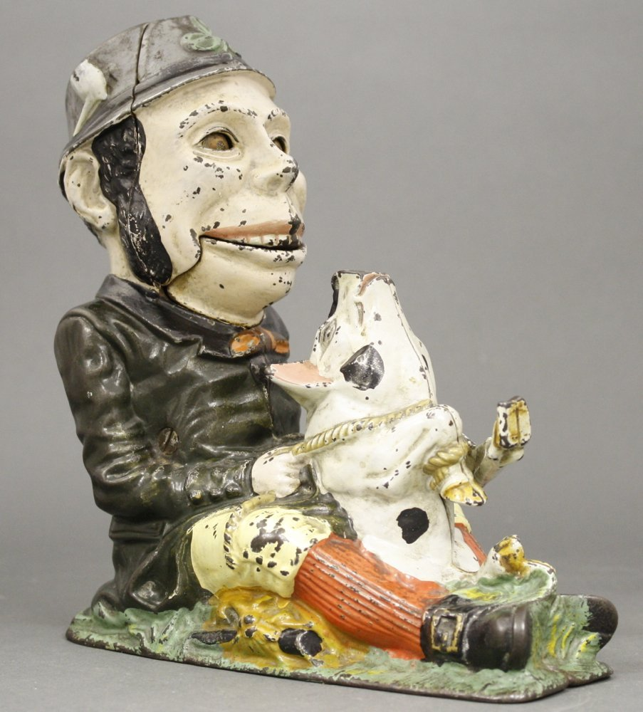 Paddy and the Pig, Green Coat Mechanical Bank
