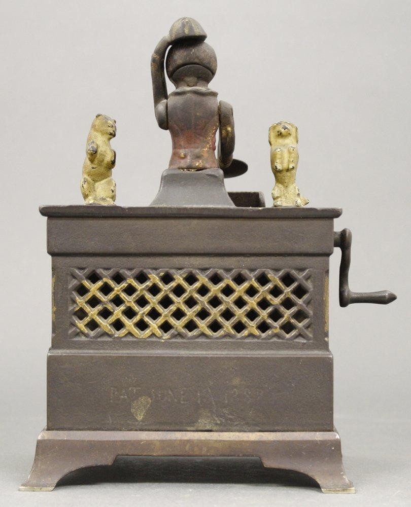 Organ, Cat & Dog Mechanical Bank - 2