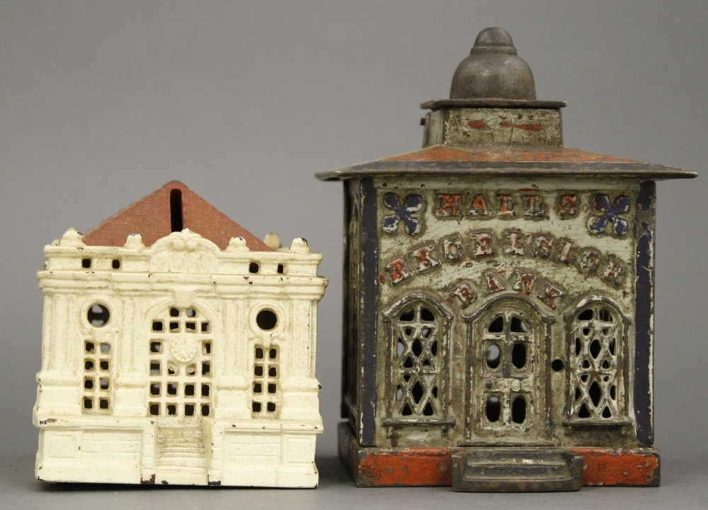 Hall's Excelsior Mechanical Bank