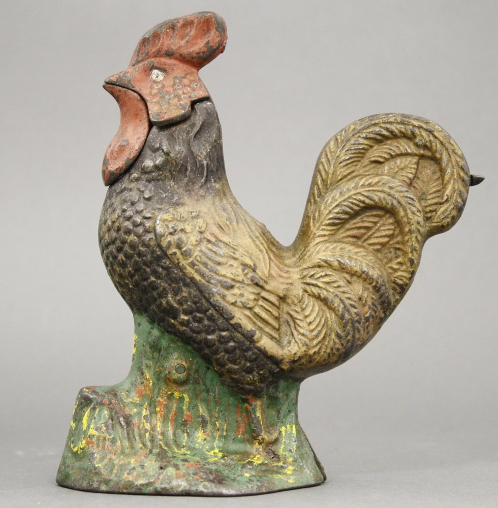 Rooster Mechanical Bank