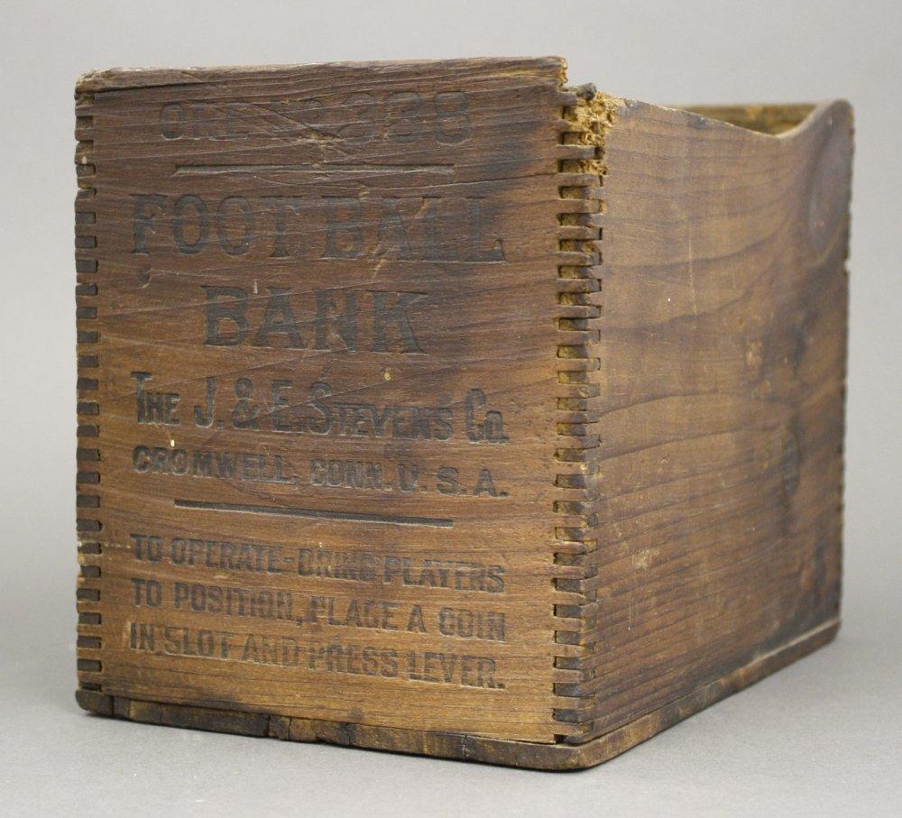 """Football"" Mechanical Bank Box"