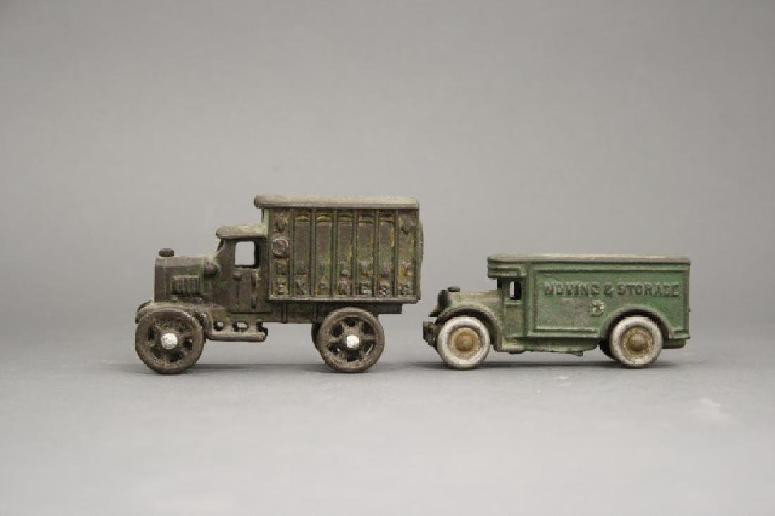 Lot: Two Moving Trucks