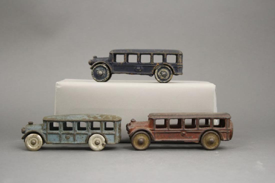 Lot: Three Buses